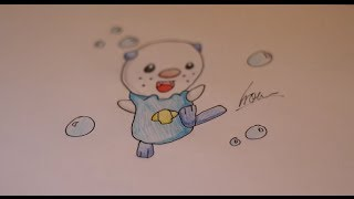 How I draw Oshawott (Pokemon).