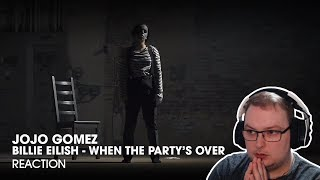 when the party's over - Billie Eilish - Dance Choreography by JoJo Gomez - REACTION!