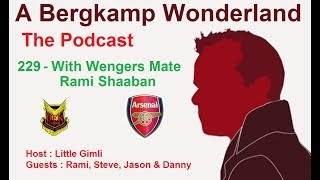 A Bergkamp Wonderland : 229 - With Wengers Mate Rami Shaaban