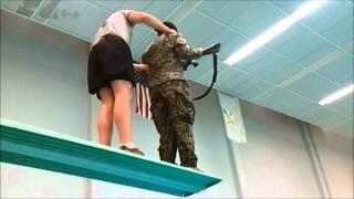 Combat Water Survival Training