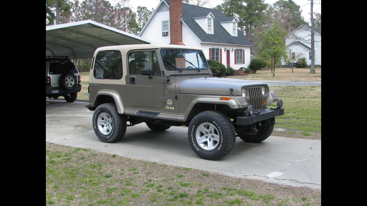 1991 Jeep Wrangler Yj Update Youtube