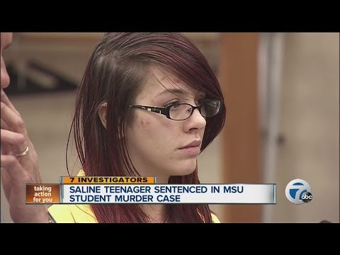 Saline teenager sentenced in MSU student murder case
