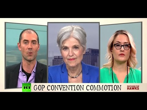 """""""Justice is nowhere to be seen in the RNC"""" - Jill Stein"""