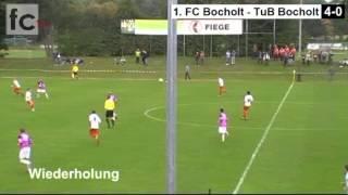 7. Spieltag: 1. FC Bocholt - TuB Bocholt 4:0 (1:0)