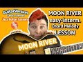 MOON RIVER - Chord Melody LESSON - Jazz guitar tutorial + TABS