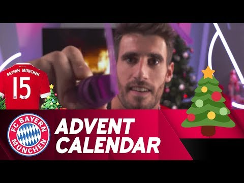 Drawing w/ Javi Martínez | FC Bayern Xmas Advent Calendar #15