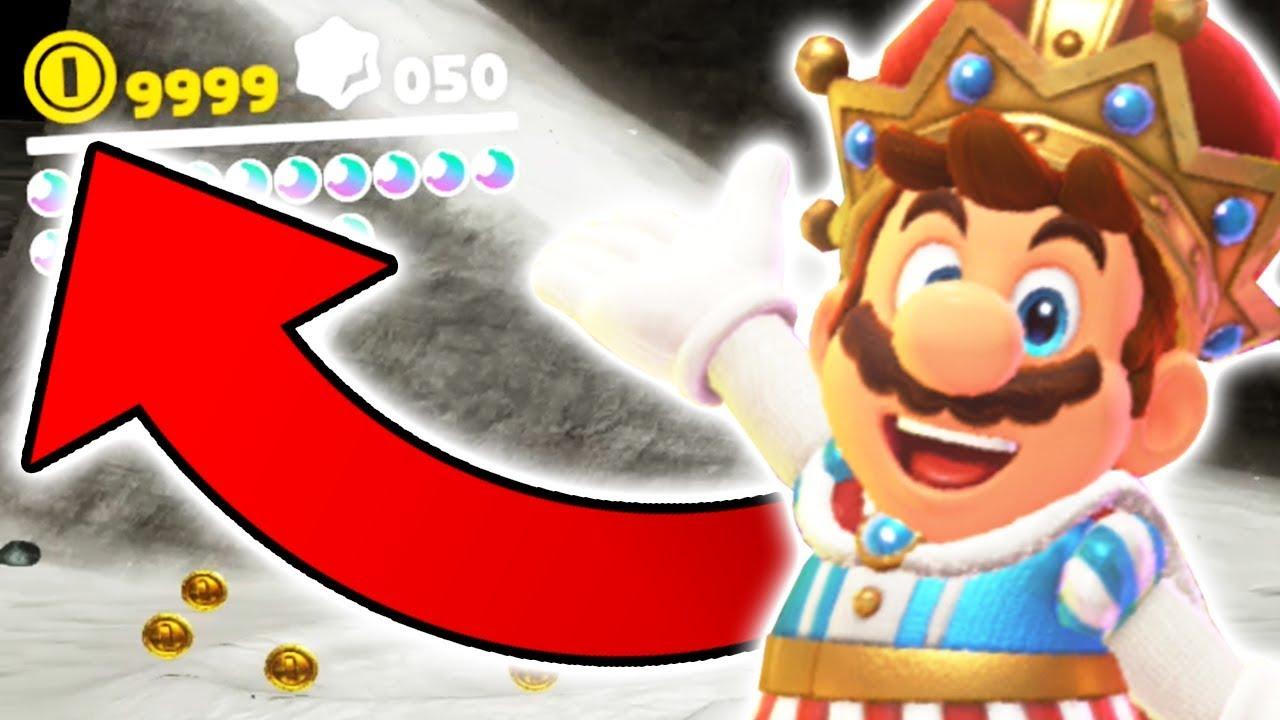 Schnell Münzen In Super Mario Odyssey Sammeln Youtube