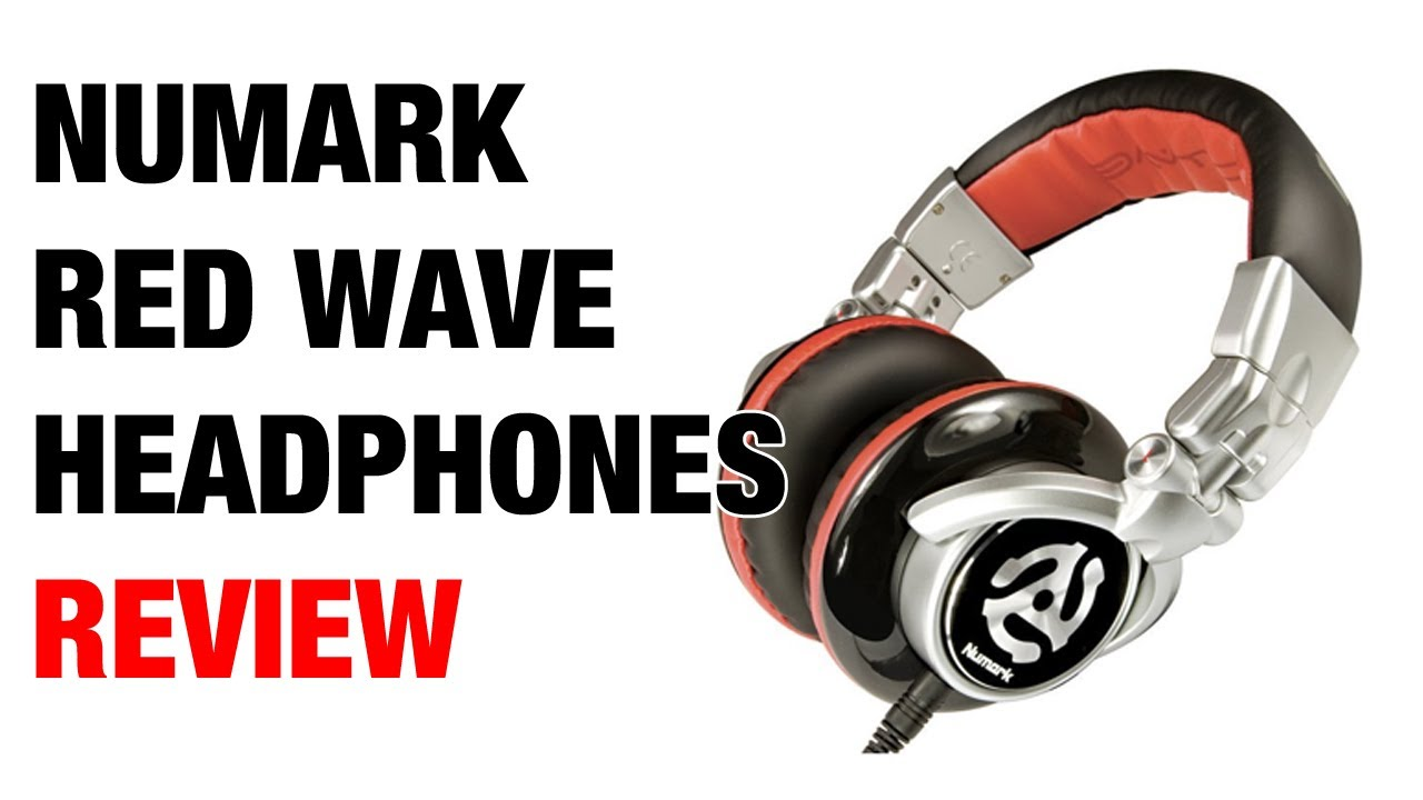 c629024f9e2 Numark Red Wave DJ Headphones Review - YouTube