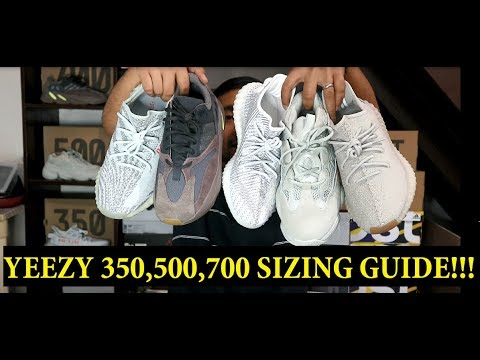 ULTIMATE YEEZY SIZING GUIDE!!