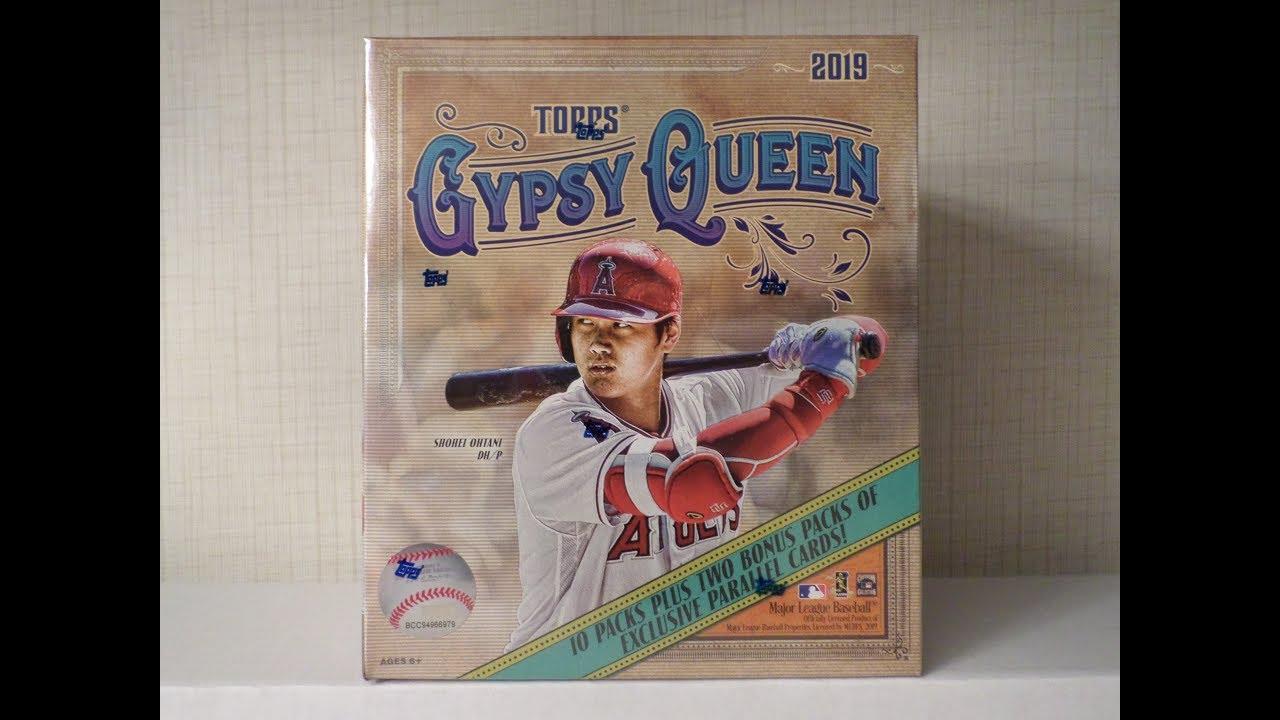 2019 Topps Gypsy Queen Baseball Mega Box