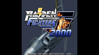 Raiden Fighters Jet 2000 on MAME Arcade Game