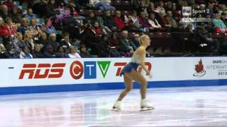 Skate Canada 2012 -4/11- LADIES FS - Amelie LACOSTE - 27/10/2012 ラコステ 検索動画 26