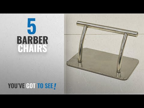 Top 10 Barber Chairs [2018]: Stainless Steel Salon Chair Footrest For Barber And Hairdressing