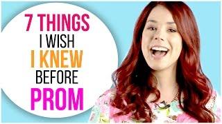7 Things I Wish I Knew Before Prom w/ Jillian Rose Reed!