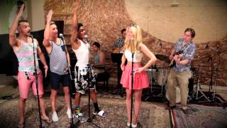 Repeat youtube video Barbie Girl - Vintage Beach Boys - Style Aqua Cover ft. Morgan James