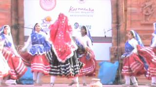 discover haryana haryanvi folk dance by college girls