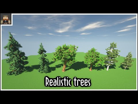 Tutorial - How To Make Realistic Trees In Minecraft