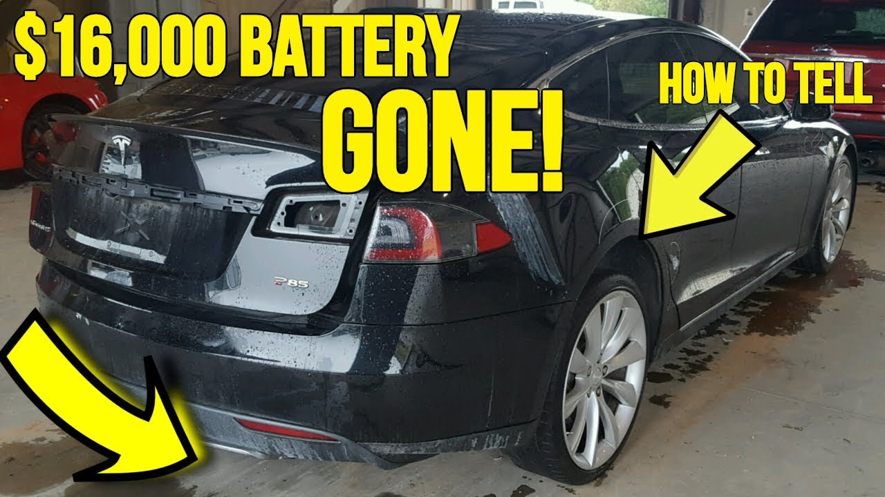 Teslas Ing At Auction Are Missing 16 000 Battery Packs Here S How It Was Discovered