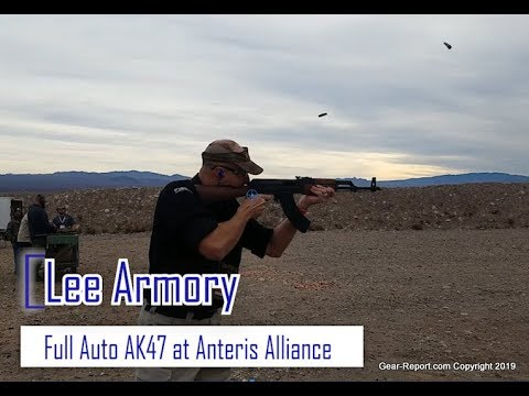 Shooting the Lee Armory Full Auto AK47 - Gear Report