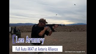 Test Firing the Lee Armory AK47 Full Auto at Anteris Alliance 2019