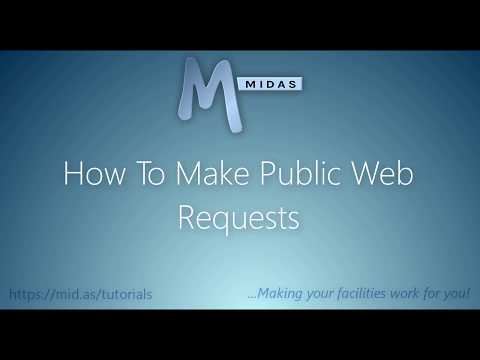 MIDAS: How To Make Public Web Requests