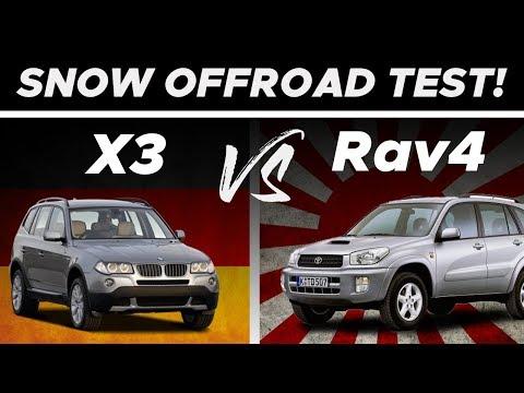 *NOVOGODIŠNJI SPECIJAL* BMW X3 vs TOYOTA RAV4
