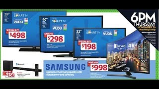 Black Friday & Cyber Monday Deals on TVs