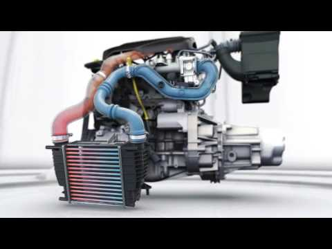 renault clio 1 2 tce engine intercooler 06 youtube. Black Bedroom Furniture Sets. Home Design Ideas