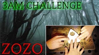 (GONE WRONG) TERRIFYING OUIJA BOARD AT HAUNTED PARK / 3AM CHALLENGE