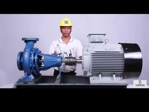 Dial Gauge Pump-Motor Alignment Process