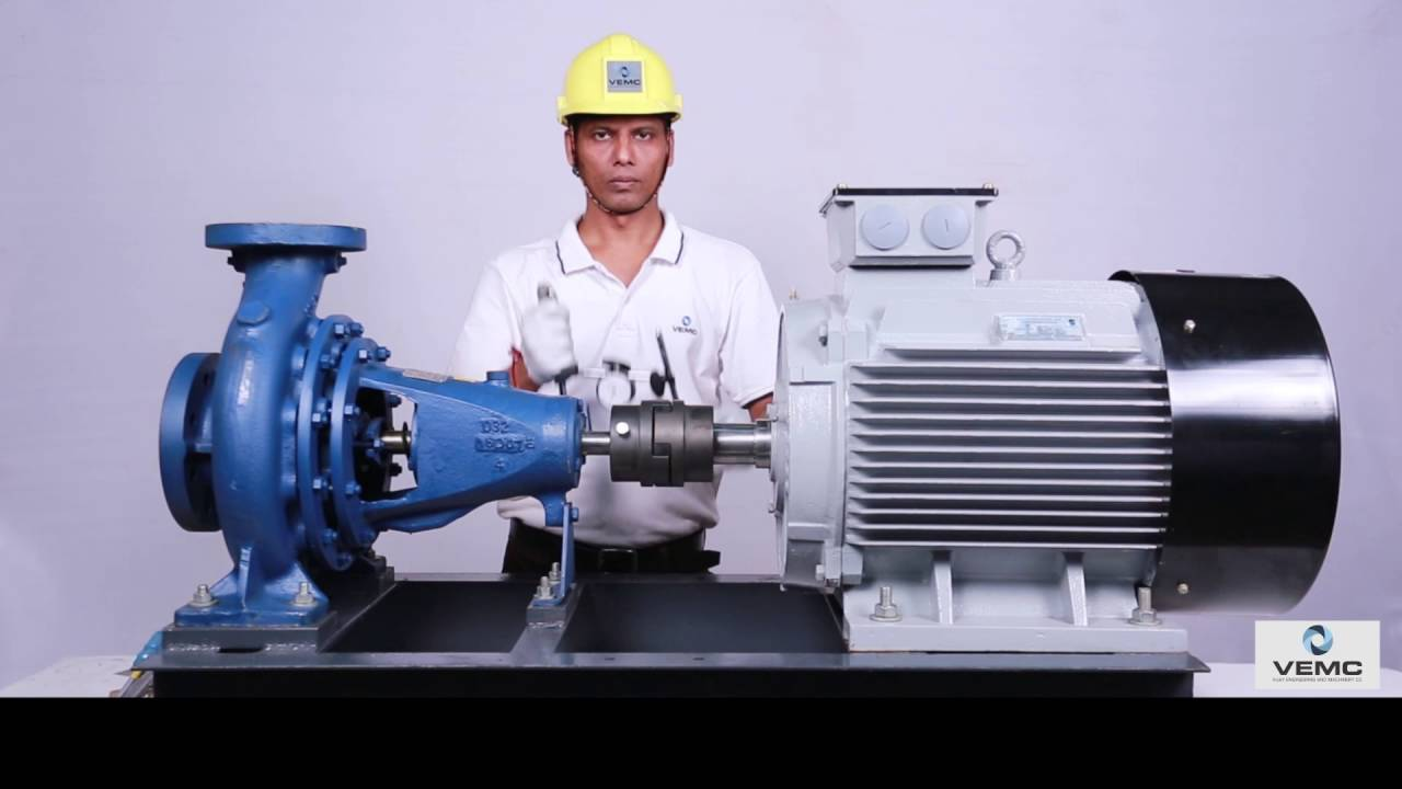Dial Gauge Pump Motor Alignment Process Youtube