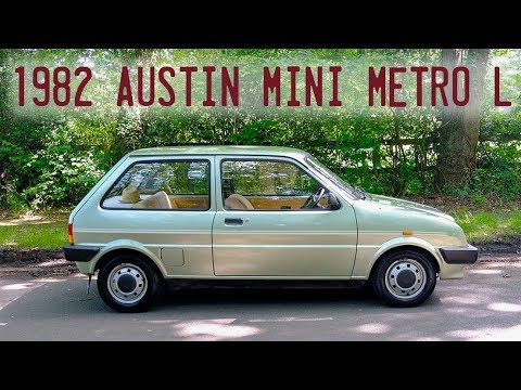 1982 Austin Mini Metro L Goes For A Drive