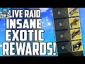 Destiny: INSANE RAID LIVE TEAM FUNNY REACTION! Most Exotic Drops So Far!!