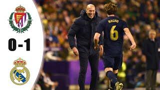 вальядолид - Реал Мадрид 0:1. Обзор матча. Чемпионат Испании 2019/20. 21 тур