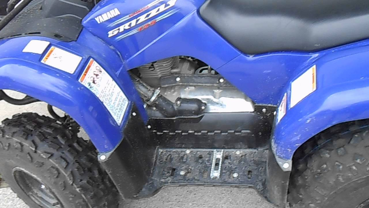 Yamaha Grizzly 125 Review Amp Startup