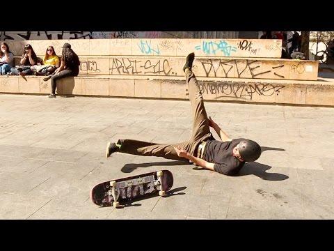 My Macba 3 Block Skate Battle in Barcelona