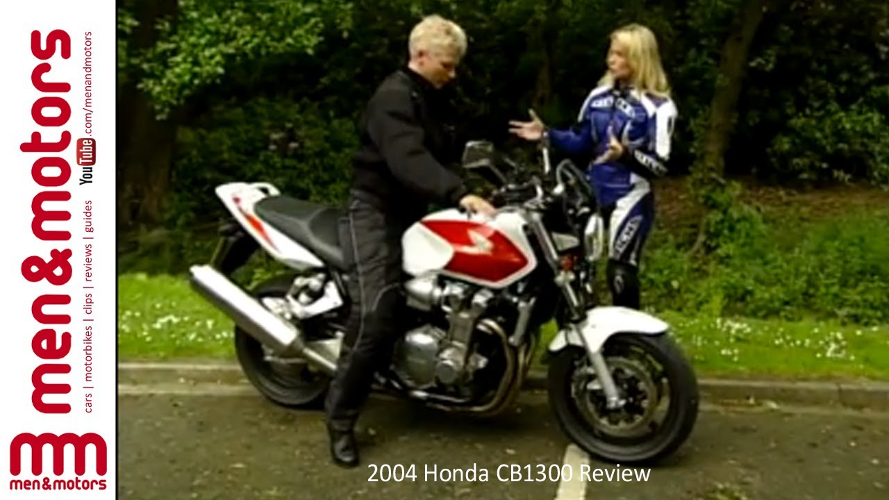 2004 Honda CB1300 Review - YouTube