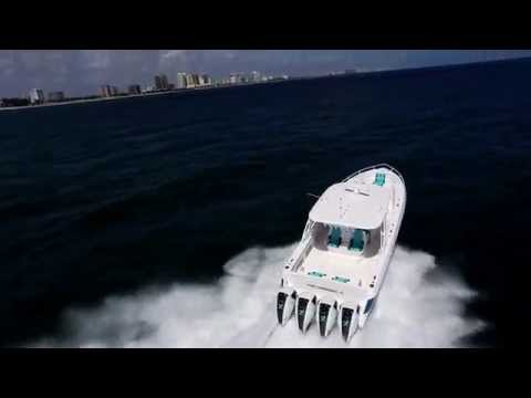 2015 390 Nor-Tech twin 557 Seven Marine Power 80 MPH boat is in stock today!!