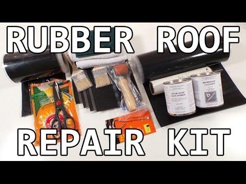 Rv Roof Repair Diy