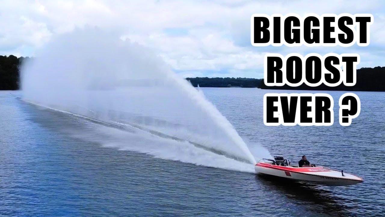 MASSIVE JET BOAT MOD=HUGE ROOST!