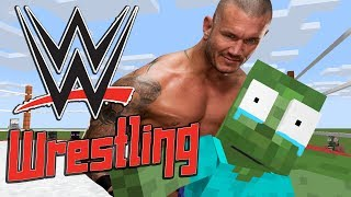 Monster School: WWE WRESTLING CHALLENGE - Minecraft Animation