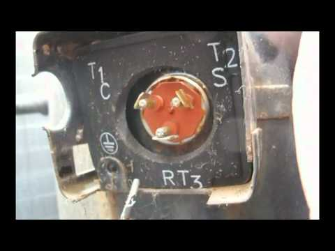 Ac Contactor Wiring Air Conditioning Repair How To Ohm A Compressor Youtube