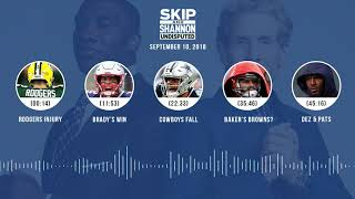 UNDISPUTED Audio Podcast (9.10.18) with Skip Bayless, Shannon Sharpe & Jenny Taft | UNDISPUTED