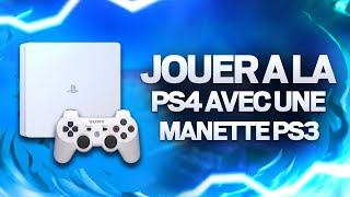 TUTO : JOUER À LA PS4 AVEC UNE MANETTE PS3 !