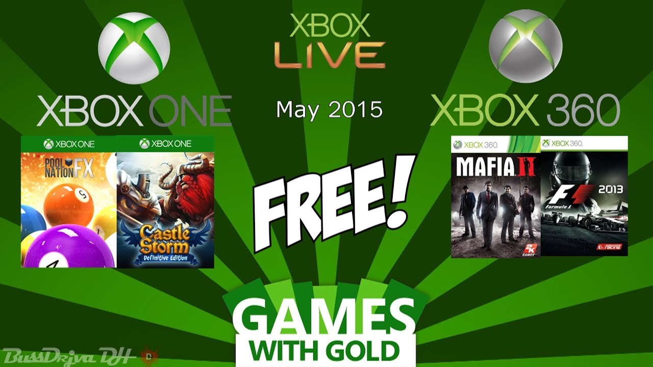 Xbox 360 Games With Gold : Xbox free games with gold may one