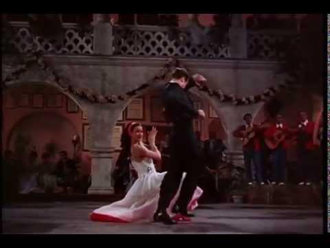 Cyd Charisse w/ Ricardo Montalbán (1947) Fiesta [Romeria Vasca]
