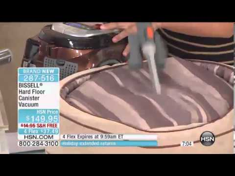 bissell hard floor canister vacuum - youtube