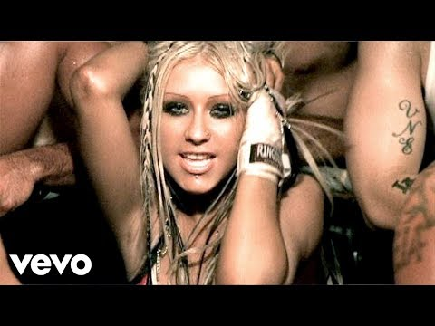 Christina Aguilera  Dirrty VIDEO ft. Redman