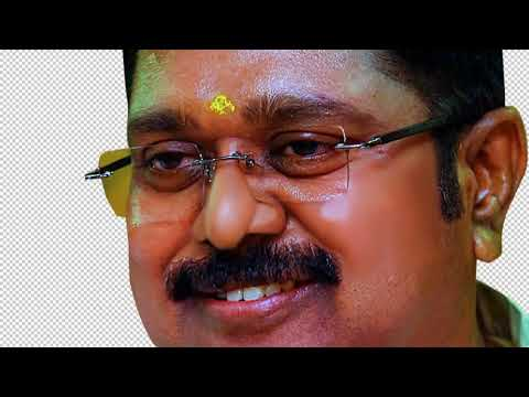 Ttv Dhinakaran Digital Painting Art Tutorials Tamil Sss Art Youtube