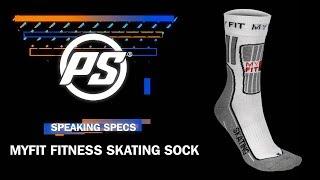 MYFIT Fitness Skate Socks - Powerslide Speaking Specs